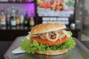 Wurst und Durst Big Chicken Burger