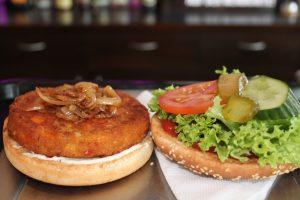 Wurst und Durst Veganer Burger