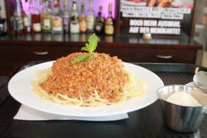 Wurst und Durst Spaghetti-Bolognese