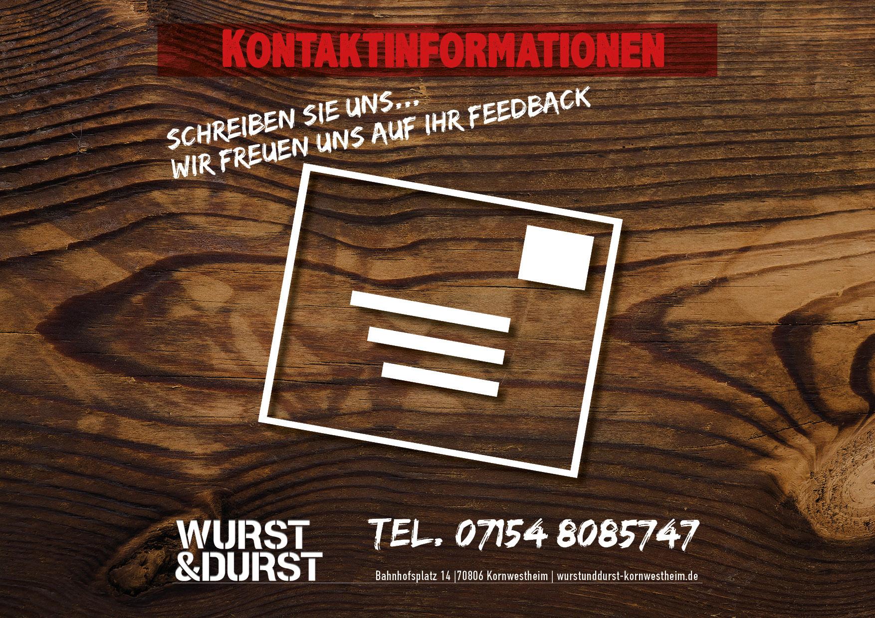 Kontaktinformationen Wurst & Durst Kornwestheim